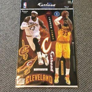 Fathead. Cleveland Cavs Lebron James.